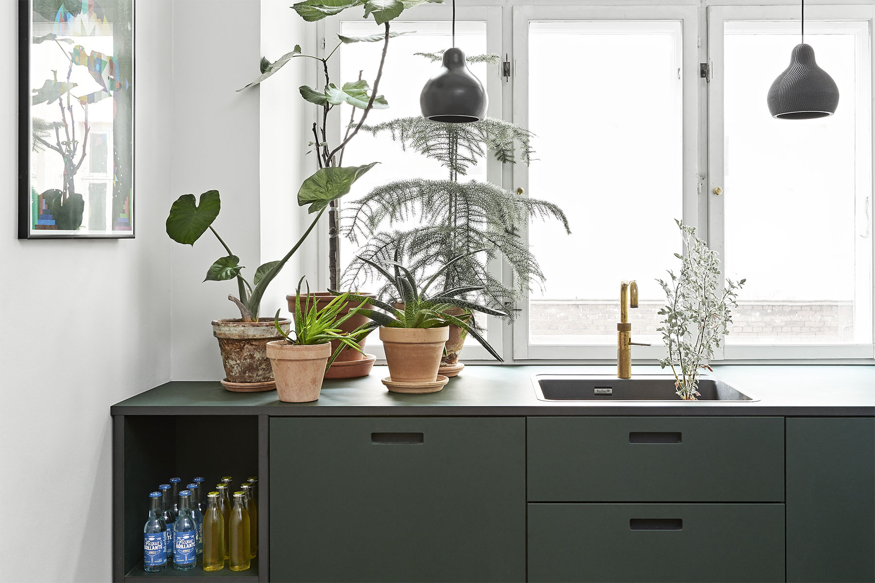 ikeahack-designerkøkken-nye-fronter-and-shufl-linoleum-conifer-kitchen-gogreen-front-for-ikeakitchen