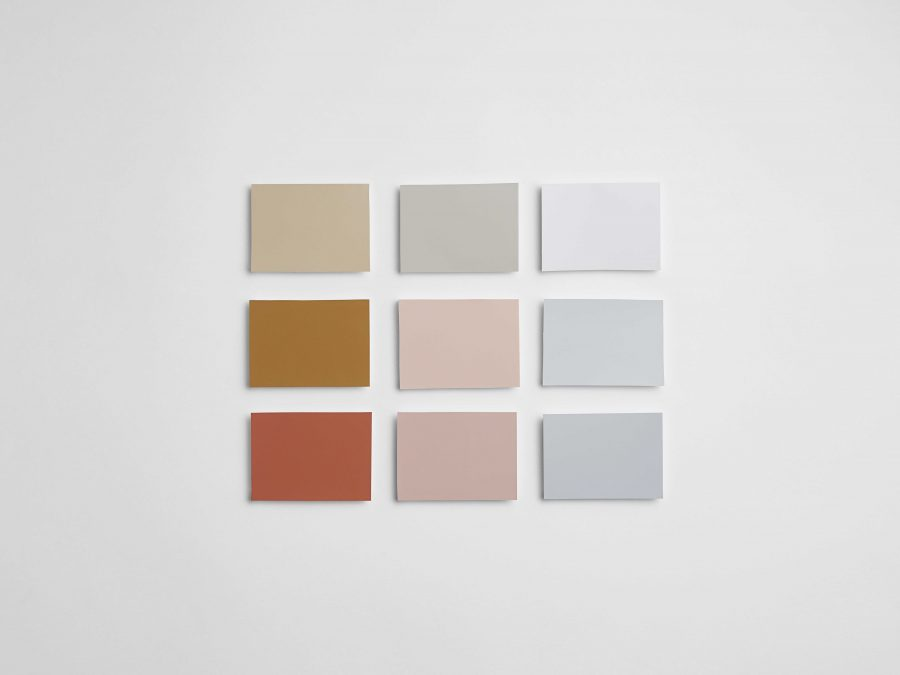painted farveproeve designer køkken